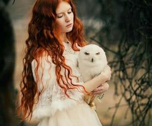 рыжие, рыжие волосы, and волосы длинные волосы image