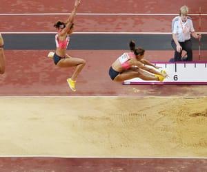 athlete, athletic, and athletics image