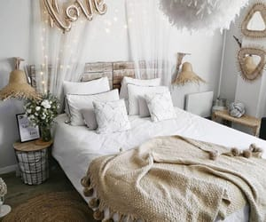home, room, and love image