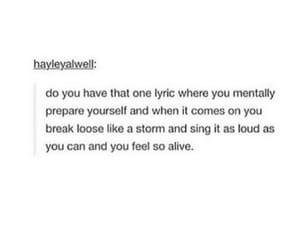 funny, Lyrics, and meme image