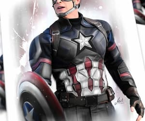 captain america, chris evans, and draw image