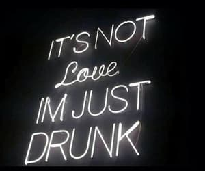 love, quotes, and drunk image