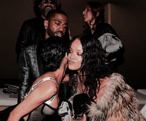 aesthetic, brown, and rihanna image