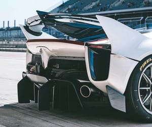 car, luxury, and rear image