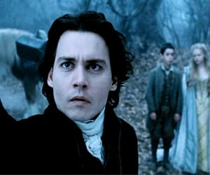 johnny depp, gif, and sleepy hollow image