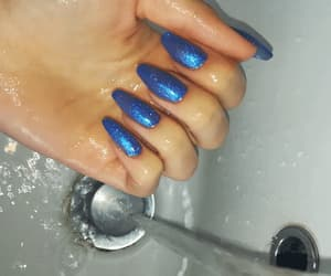 blue, gel, and gif image