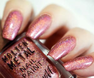 glitter, nails, and notd image