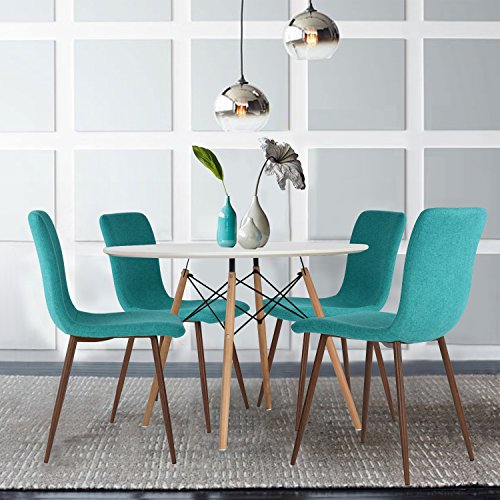 Phenomenal Set Of 4 Eames Dining Chairs Coavas On We Heart It Gmtry Best Dining Table And Chair Ideas Images Gmtryco
