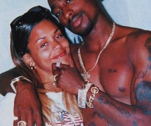 2pac, hood nigga, and love image