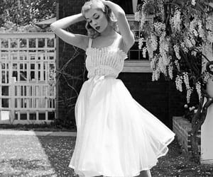 black and white, vintage, and 50s image