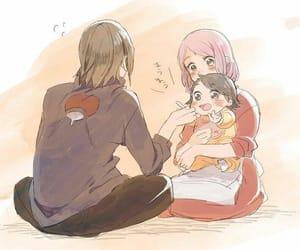 anime, drawing, and sasusaku image