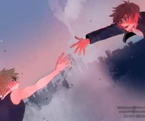 boku no hero, bakugo katsuki, and kirishima eijirou image
