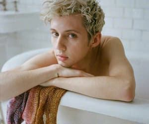blonde, troye, and cool image