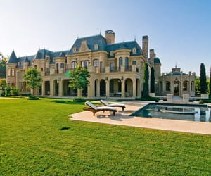 castle, future, and luxury image