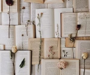 blush, books, and green image