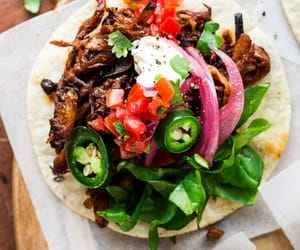 recipe, vegan, and tacos image