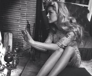 b&w, black and white, and brigitte bardot image