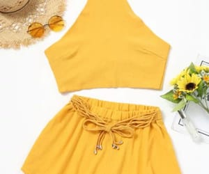 girly, outfit, and summer image