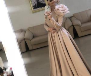 dress, chechen, and hijab image