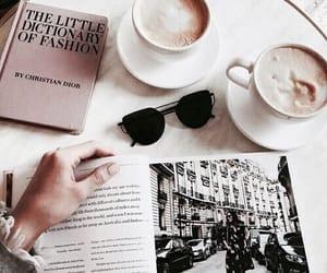 coffee, fashion, and book image