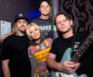 rock bands, jenna mcdougall, and bands image