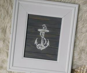 etsy, ocean decor, and framed wood sign image