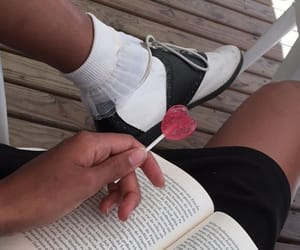 aesthetic, instagram, and books image