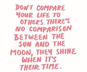 quotes, moon, and pink image
