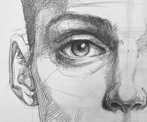 arte, dibujo, and persona image