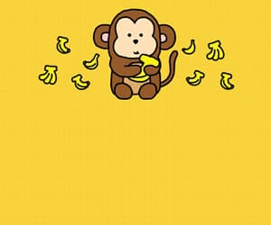 monkey, wallpaper, and cute image
