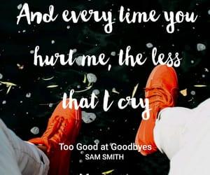 sam smith, samsmith, and too good at goodbyes image