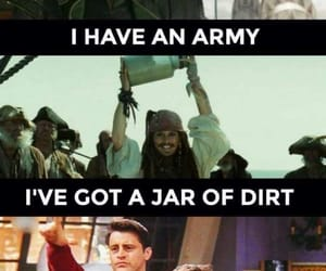 Avengers, chandler bing, and jack sparrow image