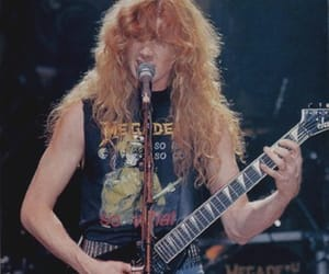 dave mustaine, megadeth, and metal image