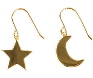 earrings, moon, and png image