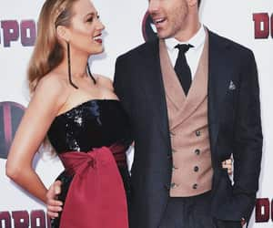 blake lively, ryan reynolds, and cute image