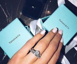 tiffany, ring, and diamond image