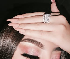 makeup, eyeshadow, and ring image