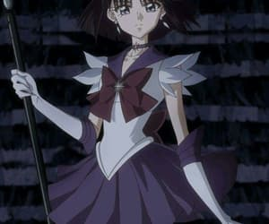 sailor saturn and hotaru image