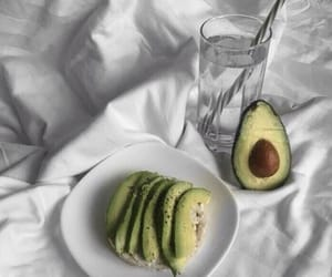 avocado, food, and aesthetic image