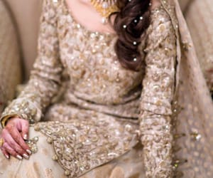 bridal, bride, and pakistan image