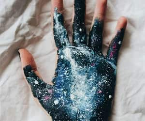 aesthetic, hand, and painting image