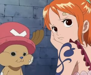one piece, chopper, and nami image