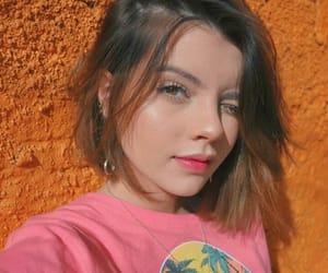 girls, glow, and laranja image