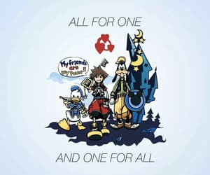 kingdom hearts, wallpaper, and kh image