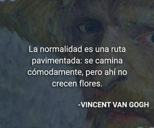 quotes, vicent van gogh, and frases image