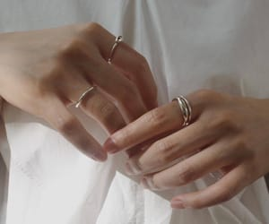 hands, aesthetic, and fashion image