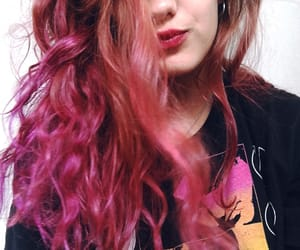 colour, hair, and violet image