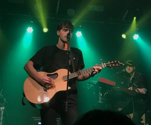concert, guitar, and guy image
