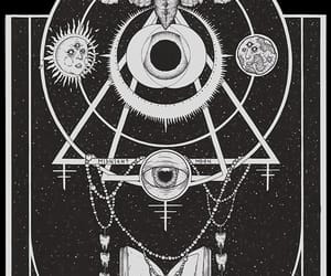 goth, illustration, and occult image