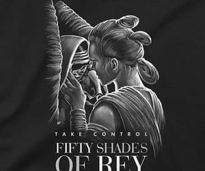 star wars, fifty shades of grey, and reylo image